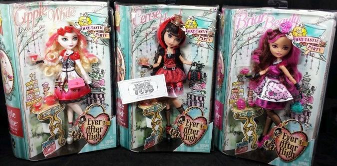 Новые куклы Эвер Афтер Хай: Hat-Tastic Party