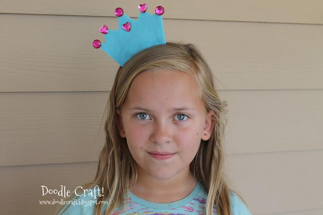 Корона на ободке для девочки своими руками