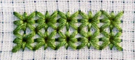 Поделки: Новые виды стежков для вышивания