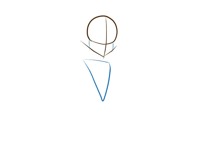 Рисуем Монстр Хай: Как рисовать Клео де Нил