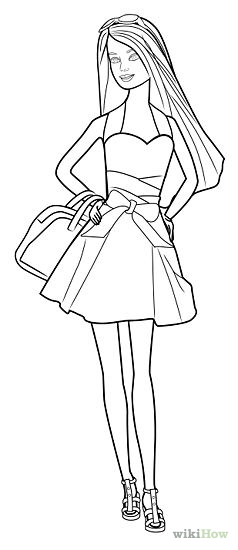 Barbie Outline