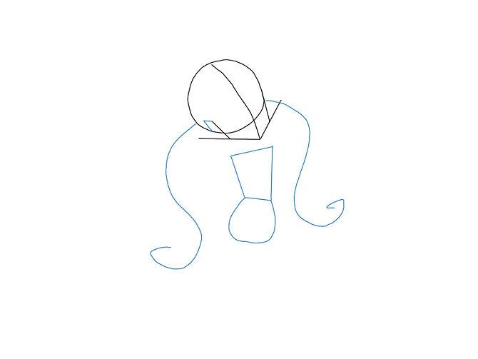 Рисуем Монстр Хай: Как нарисовать Дракулауру