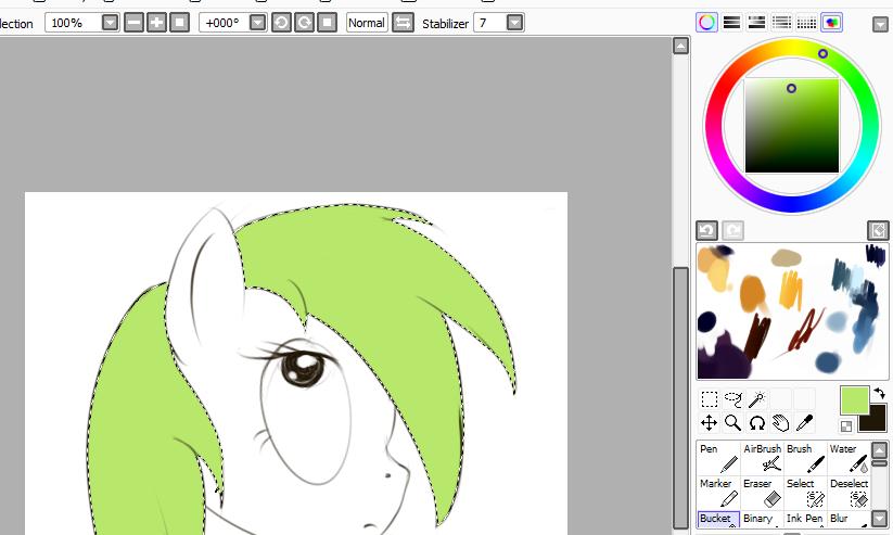 Волосы для пони без фона - 1fd