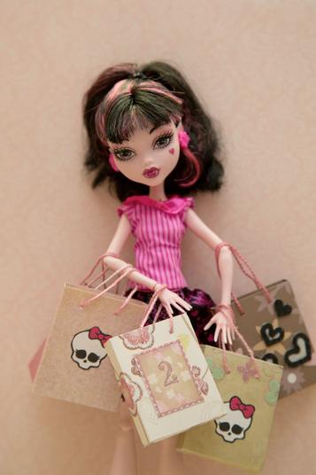 Пакет для куклы своими руками