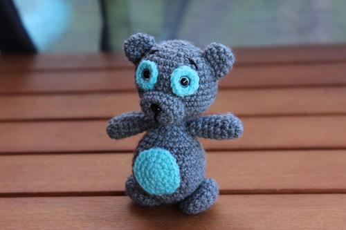 Поделки амигуруми: Схема вязания маленького мишки