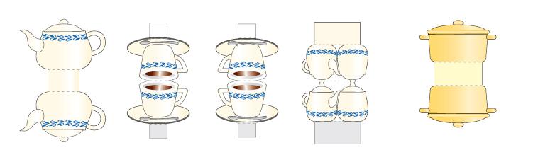 Как сделать кухонные приборы из бумаги