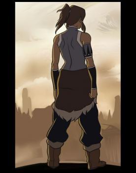 Легенда о Корре: Рисуем Корру со спины