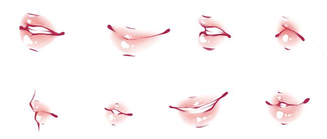 Как рисовать губы: Картинки подсказки