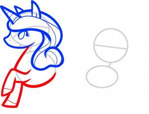 Урок рисования единорогов для детей