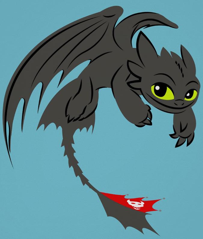 Как приручить дракона картинки иккинг и астрид