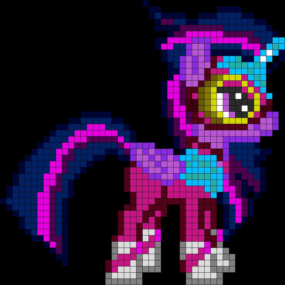 схема рисования литтл пони