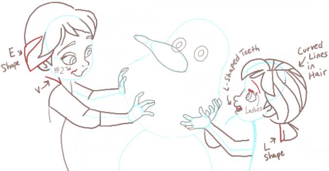 как рисовать фею розетту