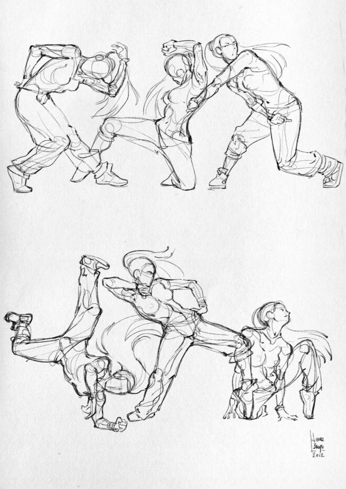 Аниме девушки танцующие