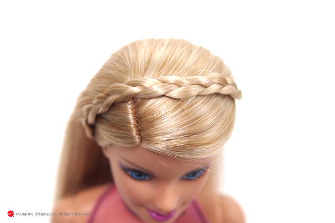 Как сделать красивую прическу барби куклы 179