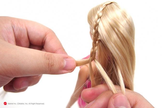 Как сделать прическу для куклы своими руками