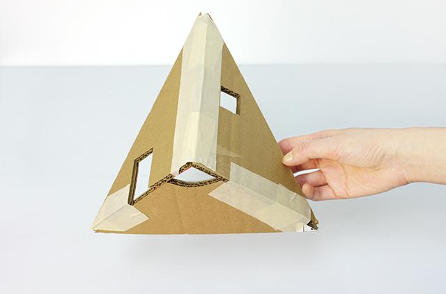 Кукольный домик своими руками шаблон