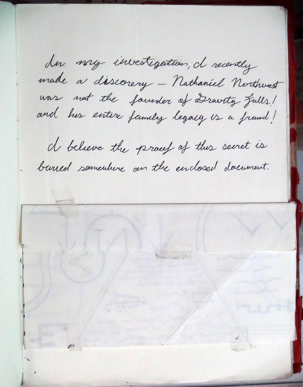 Гравити фолс как сделать дневник своими руками