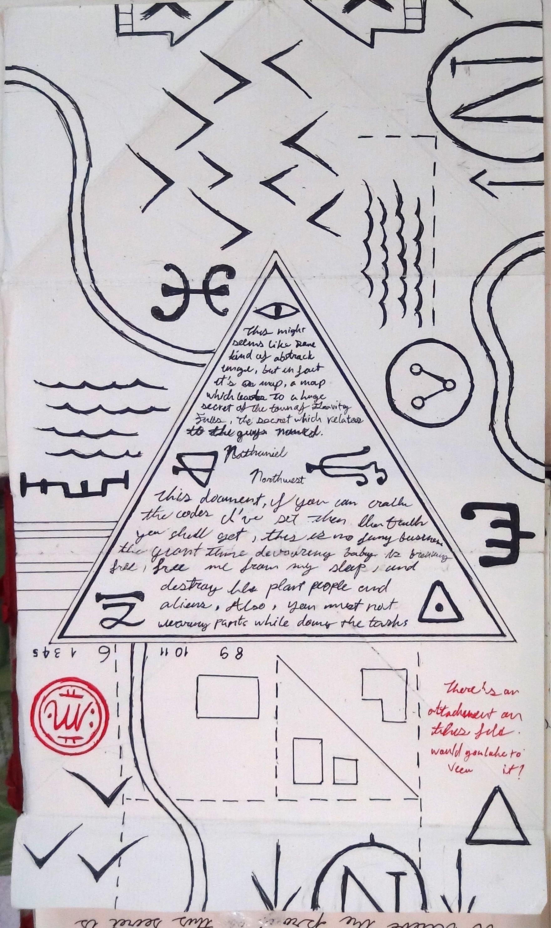 Все страницы из дневника диппера номер 2