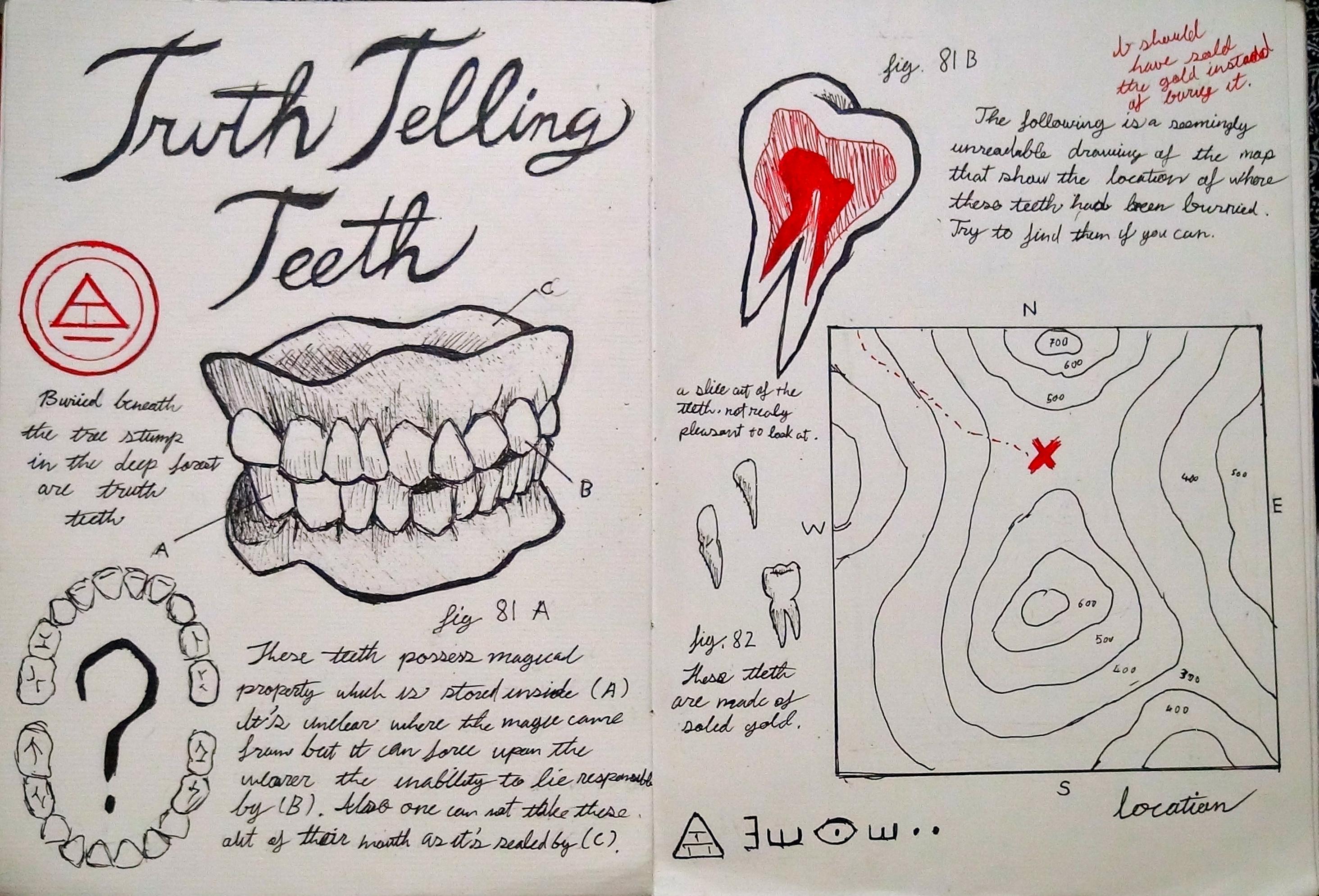 Как нарисовать страницу из дневника диппера