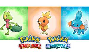 Покемоны: Новые игры Pokemon Omega Ruby и  Pokemon  Alpha Sapphire