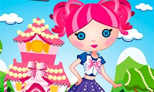 Игра для девочек: Одевалка Лалалупси