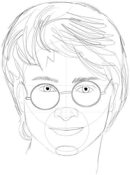 Как нарисовать героев гарри поттер