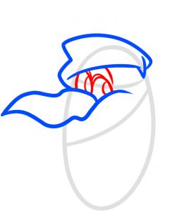Рисуем портрет новогоднего Олафа