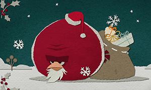 Angry Birds: Новогоднее видео и песня