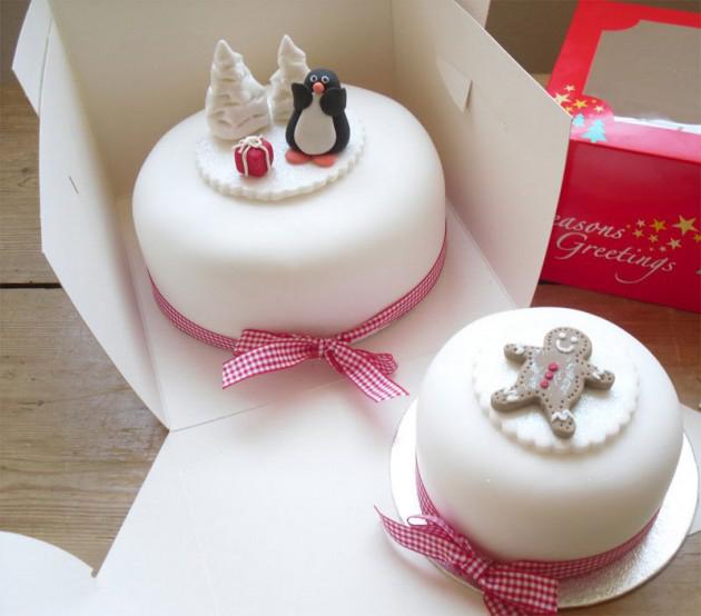 фото новогодних тортов, как оформлены