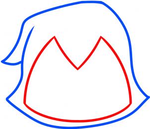 Юные Титаны: Как легко нарисовать Рейвен
