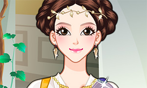 Игра для девочек: Макияж греческой красавицы