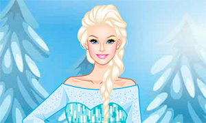 Игра для девочек: Макияж в стиле Холодного Сердца