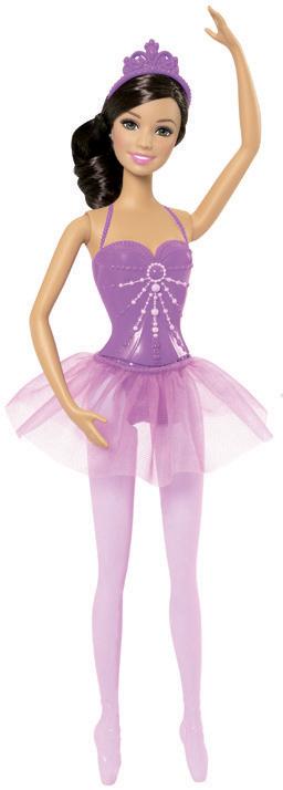 Модная прическа кукла