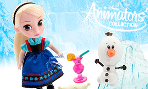Мини куколки Disney Animators' Collection