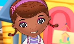Игра для девочек: Одевалка доктора Плюшевой