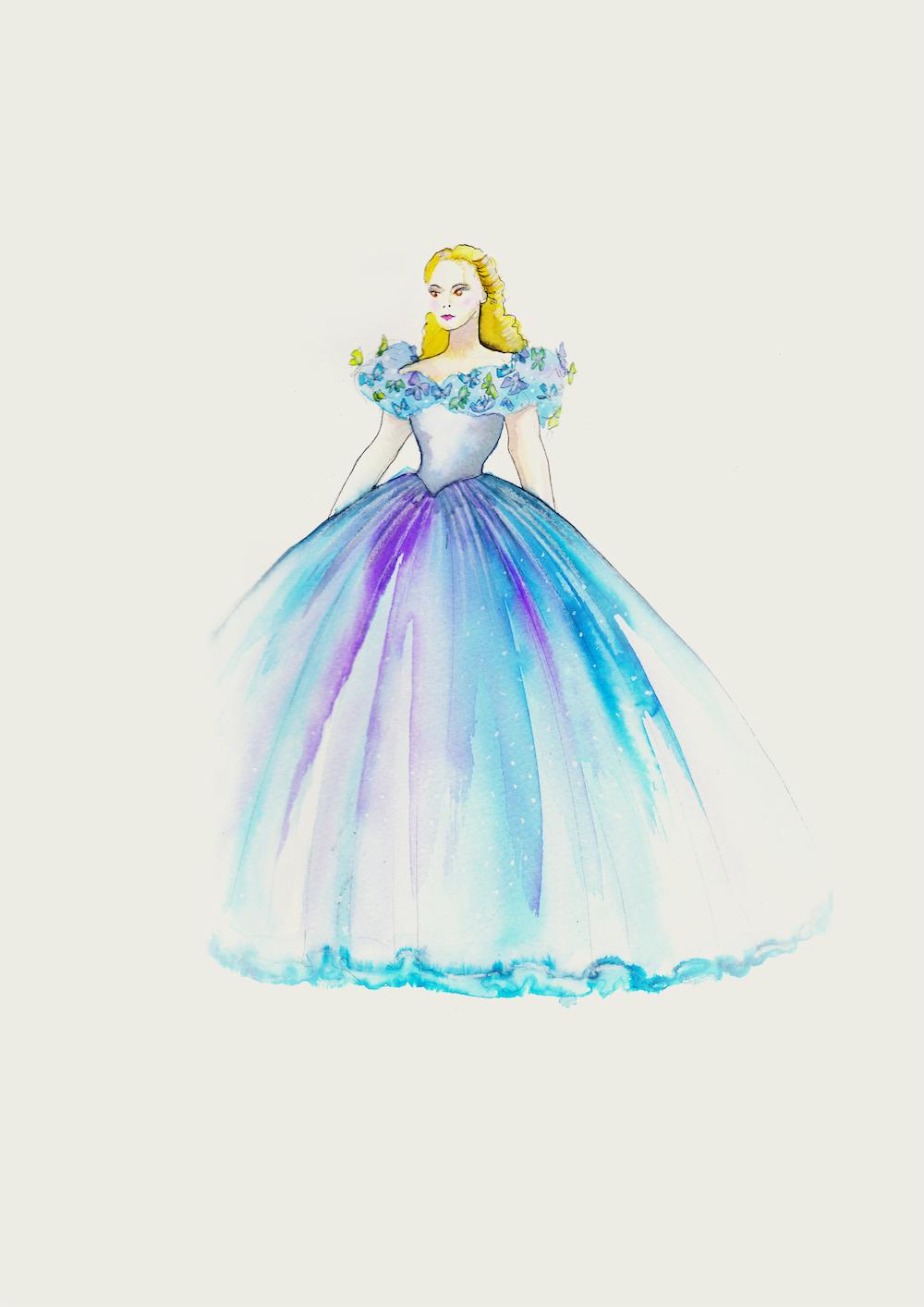 Игра дизайн платья для принцесс
