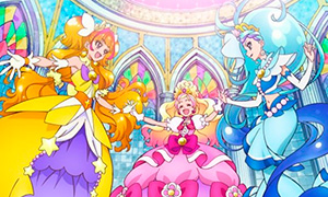 Go! Princess PreCure - новые Претти Кьюр