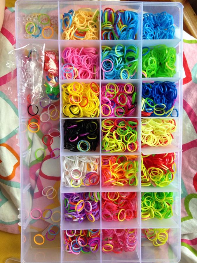Как плести резиночки для плетения браслетов