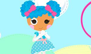 Игра для девочек: Создай свою Лалалупси
