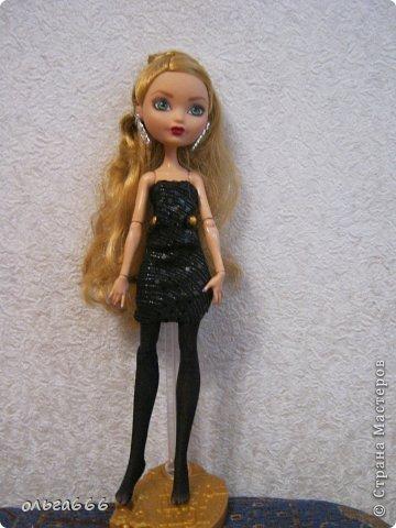Как сделать платья для кукол эвер афтер хай своими руками фото 1