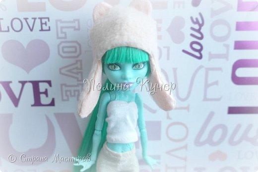 Сшить шапочку для куклы прямоугольной формы Одежда для куклы