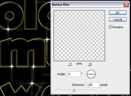 Блестящий цветной контур для текста или картинки в Photoshop