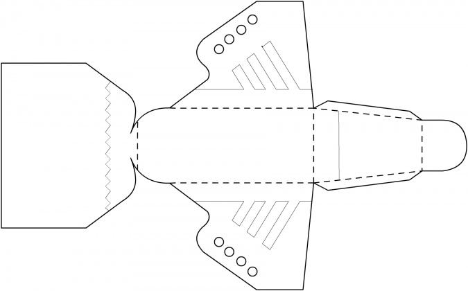 Поделки на 23 Февраля: Коробочка в виде кроссовок