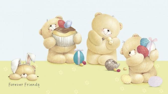 Распечатать раскраски медвежата 19