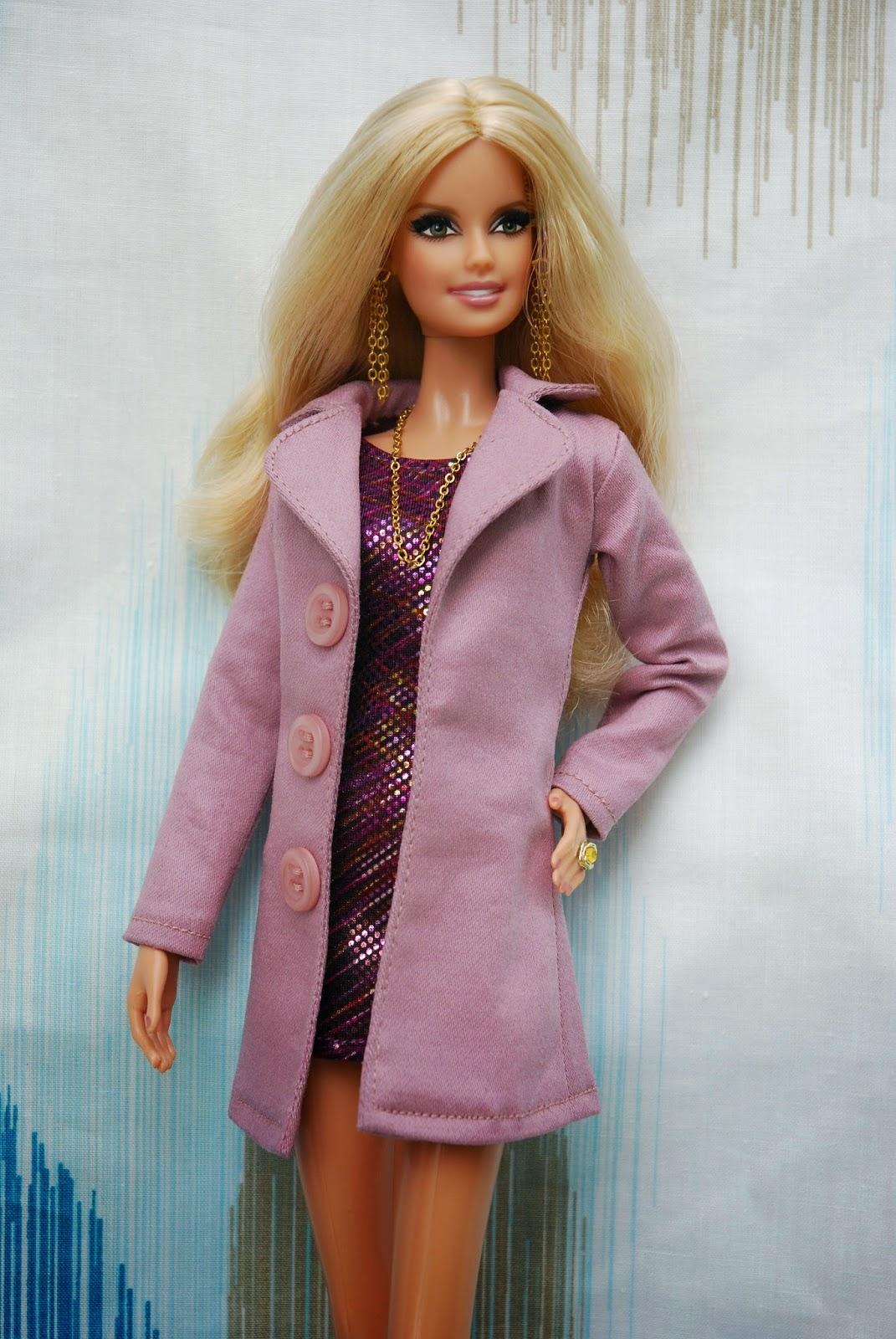 174Пальто для куклы своими руками барби