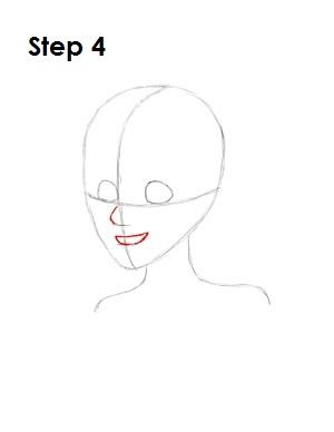 Как нарисовать портрет русалочки Ариэль