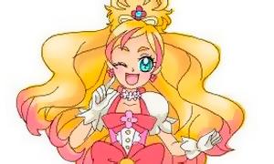 Как нарисовать Флору из Go! Princess PreCure