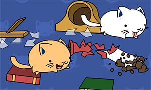 Игра для девочек: Игривые котята