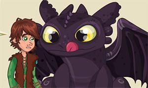 Игра Как Приручить Дракона: Обед - сюрприз