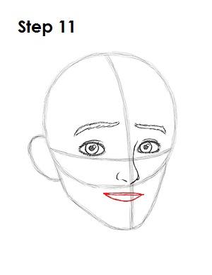 Рисуем портрет Джека Фроста